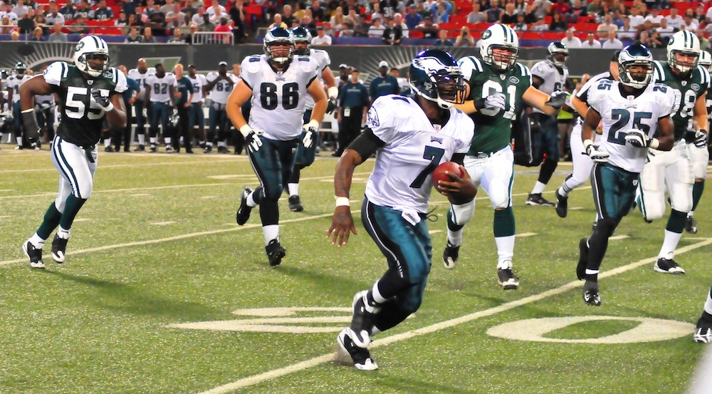 Football: Jets-v-Eagles, Sep 2009 - 53