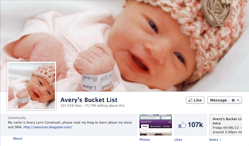 averys-bucket-list