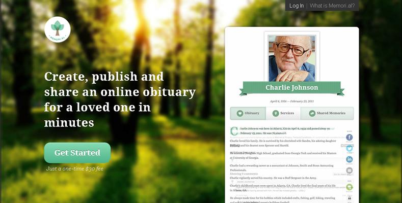 memorial-web-site