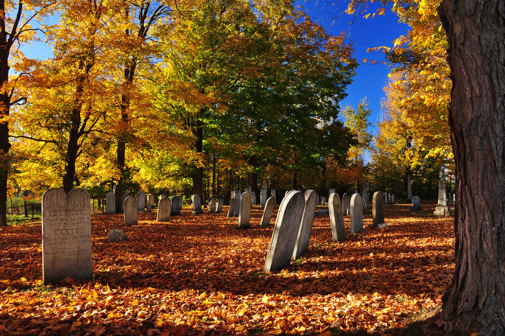 fall-cemetery