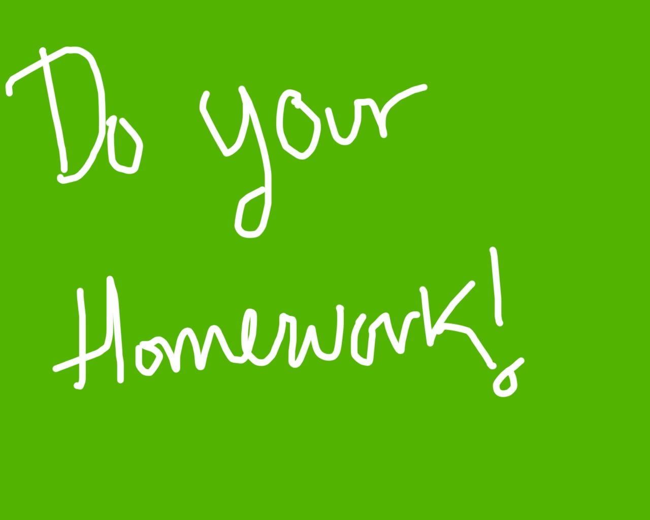 Do_your_homework