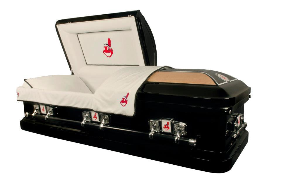cleveland-indians-casket