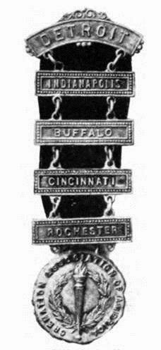 1918 Convention Badge