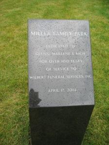 Miller Family Monument