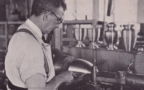 Gorham Foundry Worker