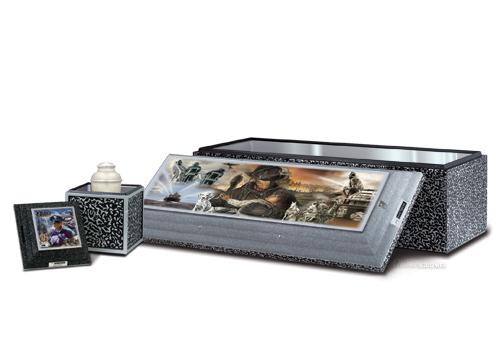 Combined SST Burial  Urn Vault - First Responder