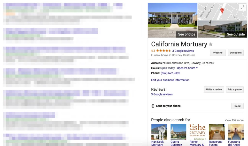 Add Your Funeral Home to Google
