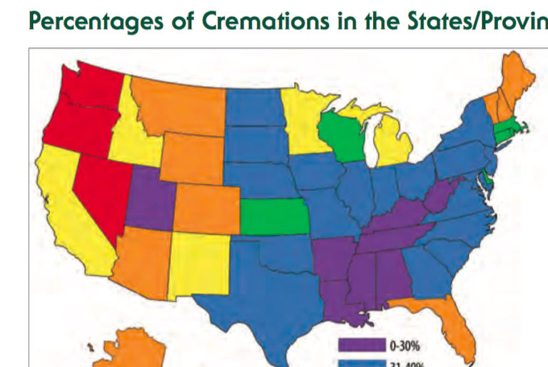 Cremation Statistics 2018