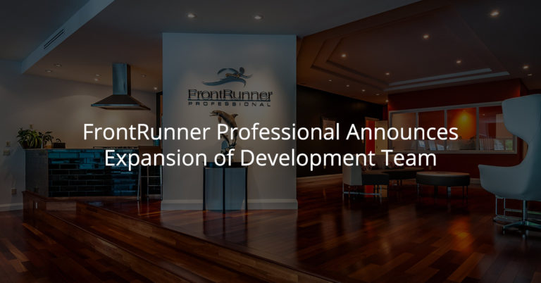 Frontrunner Professional Announces Expansion of Development Team