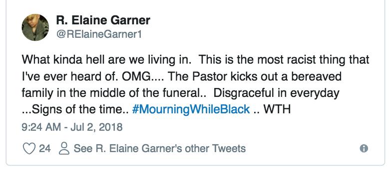 #mourningwhileblack