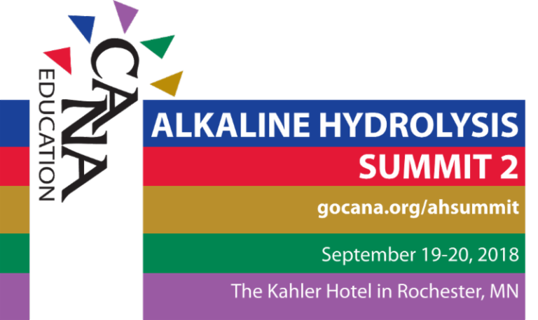 CANA Alkaline Hydrolysis Summit 2
