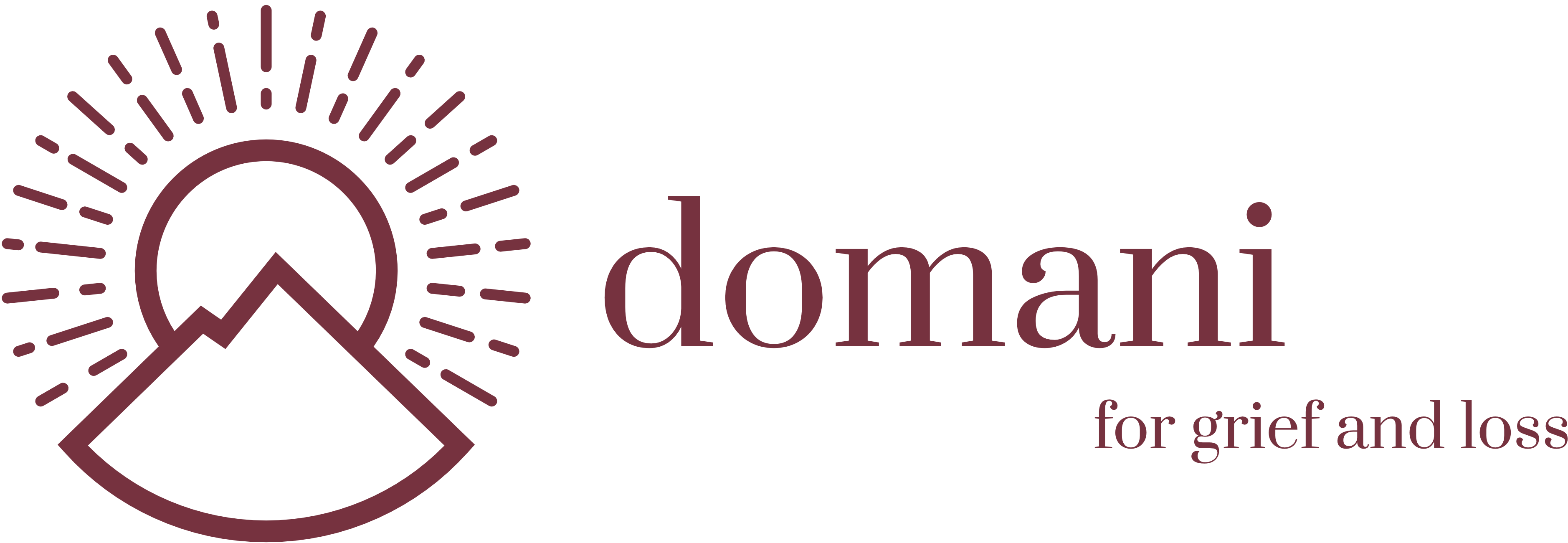 Domani for Grief Logo