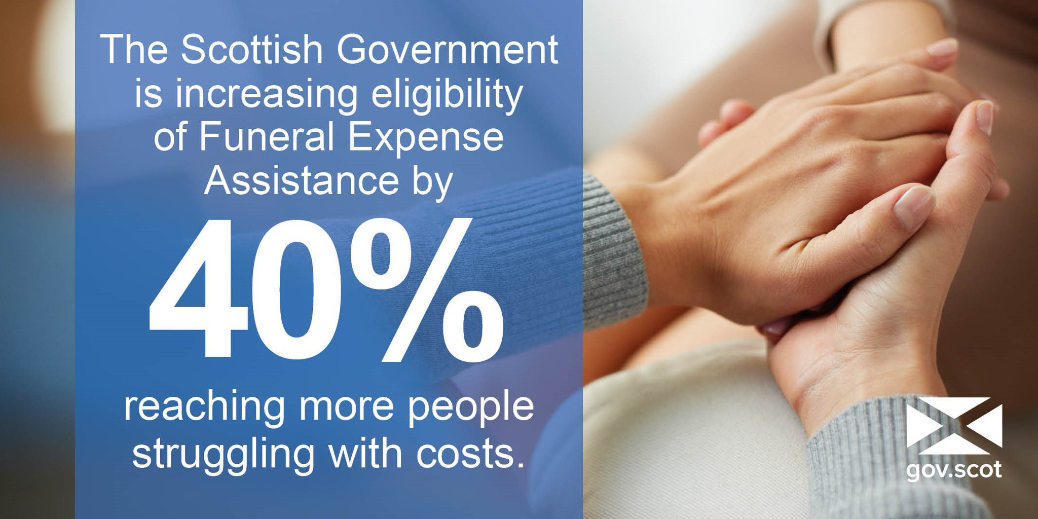 Tweet from Scottish government