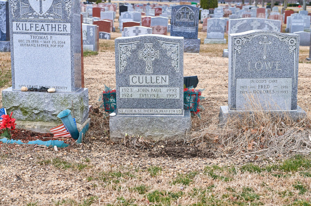 cemetery sink holes