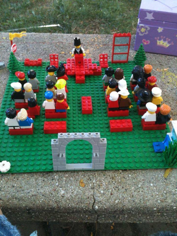 LEGO Memorial Service