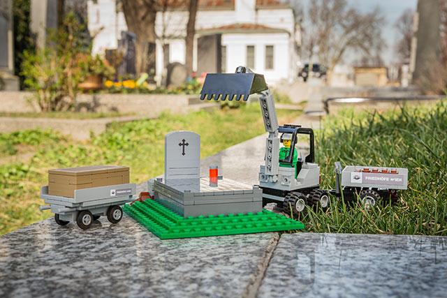 LEGO Graveyard Set