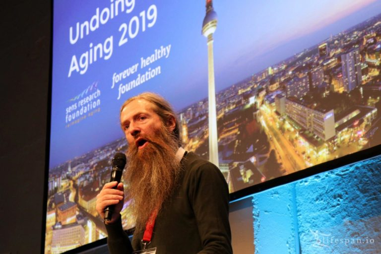 Aubrey de Gray at Undoing Aging 2019