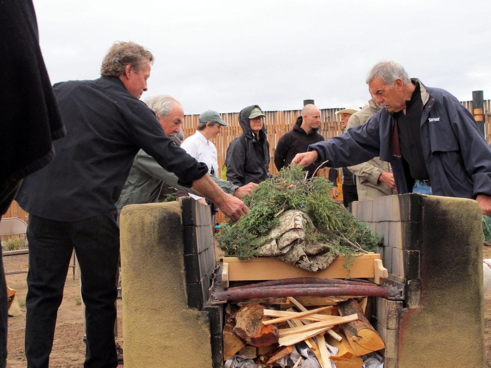Colorado open-air cremation