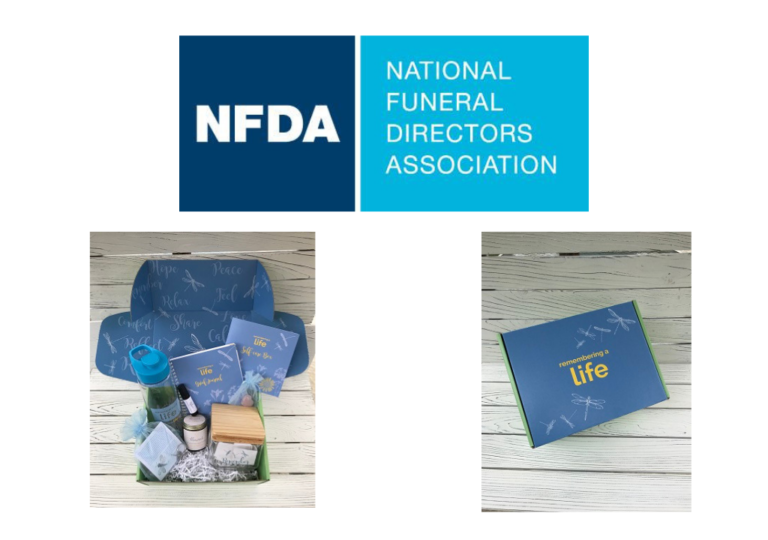 NFDA Introduces Remembering A Life Self-care Boxes to Help the Bereaved