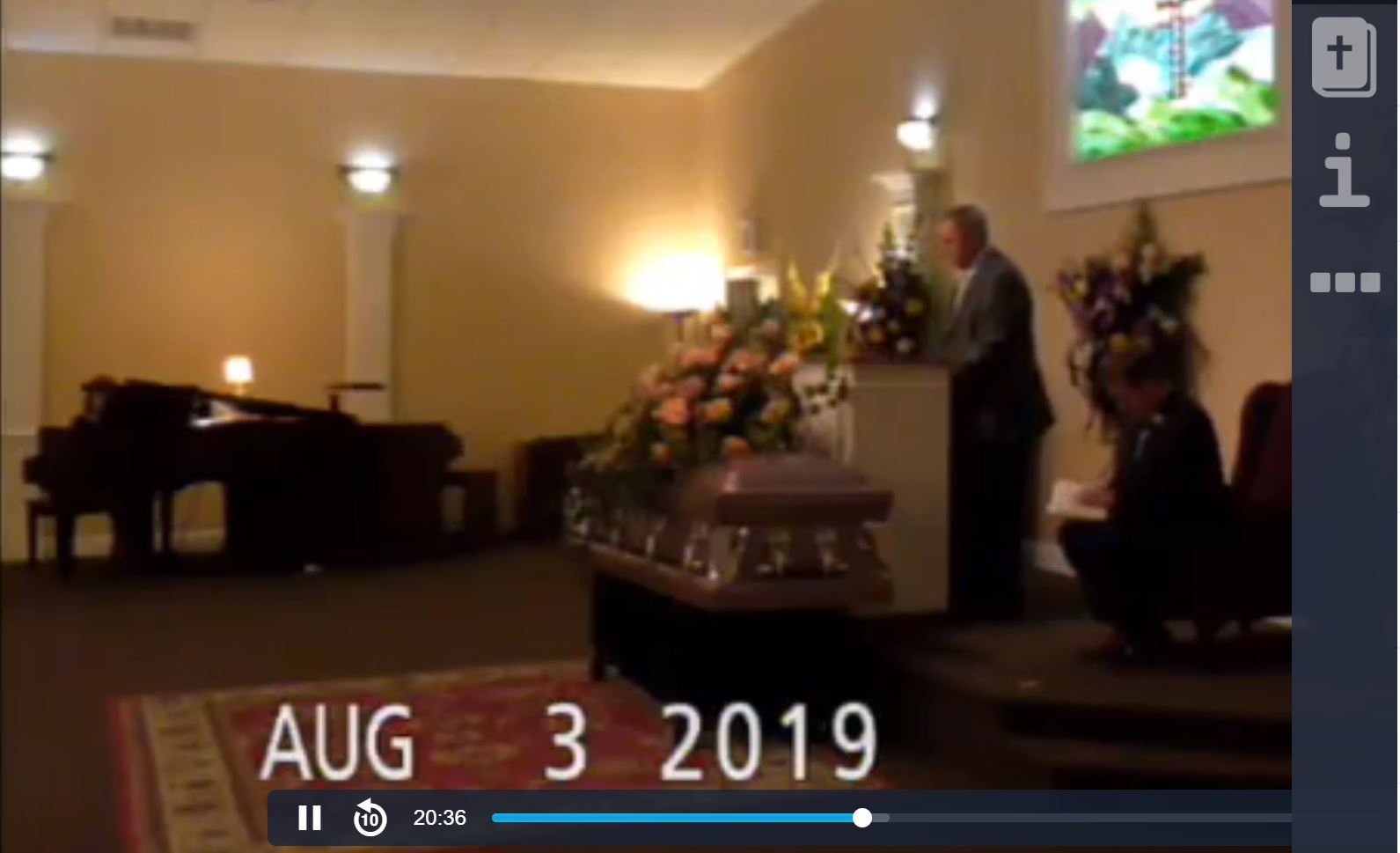 Live Stream Funeral Services