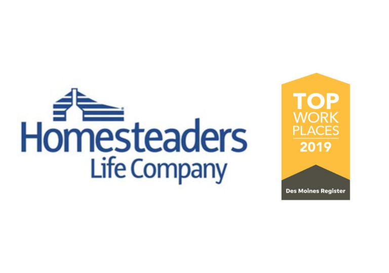 Homesteaders Life Company Named Among Top 15 Workplaces in Iowa