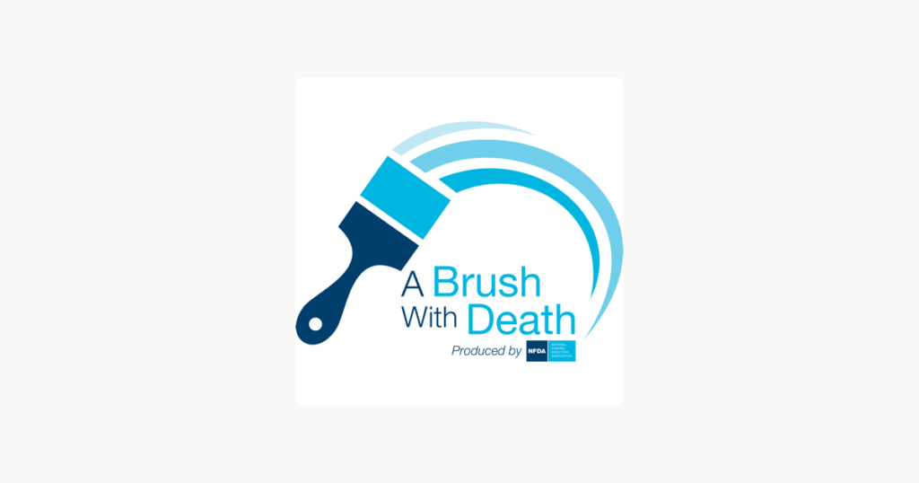 NFDA Brush With Death Logo
