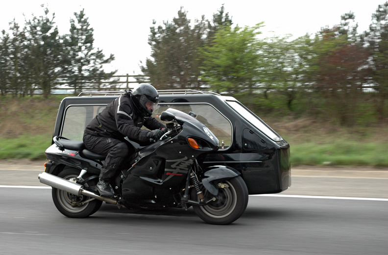 World records fastest motorcycle hearse