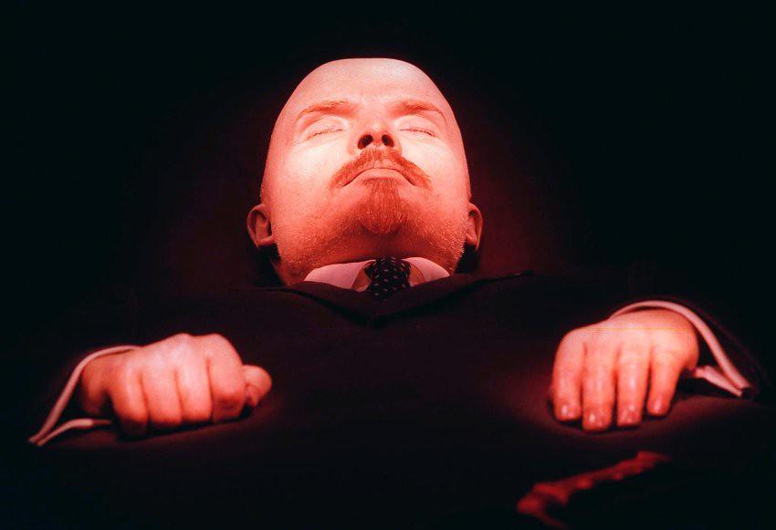 Vladimir Lenin embalmed body