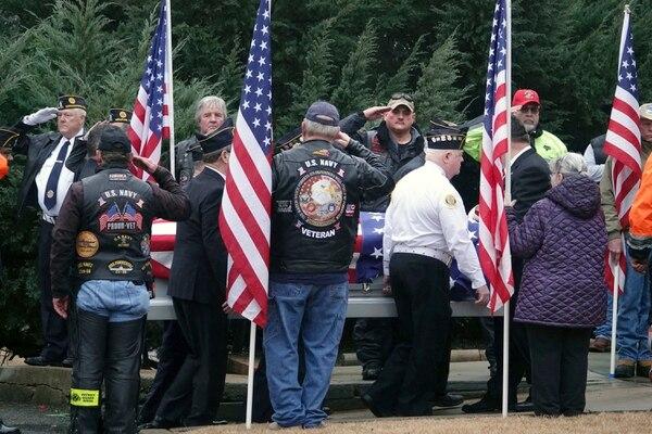 Veterans funeral service