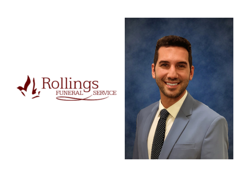 Rollings Funeral Service Announces Umberto Putrino as new Director of Social Media & Strategic Communications