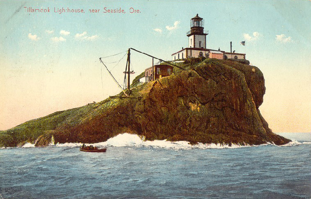 Old Tillamook Postcard