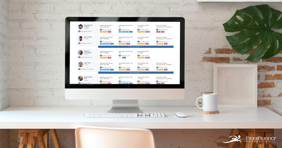 FrontRunner Announces New Task Manager Tool