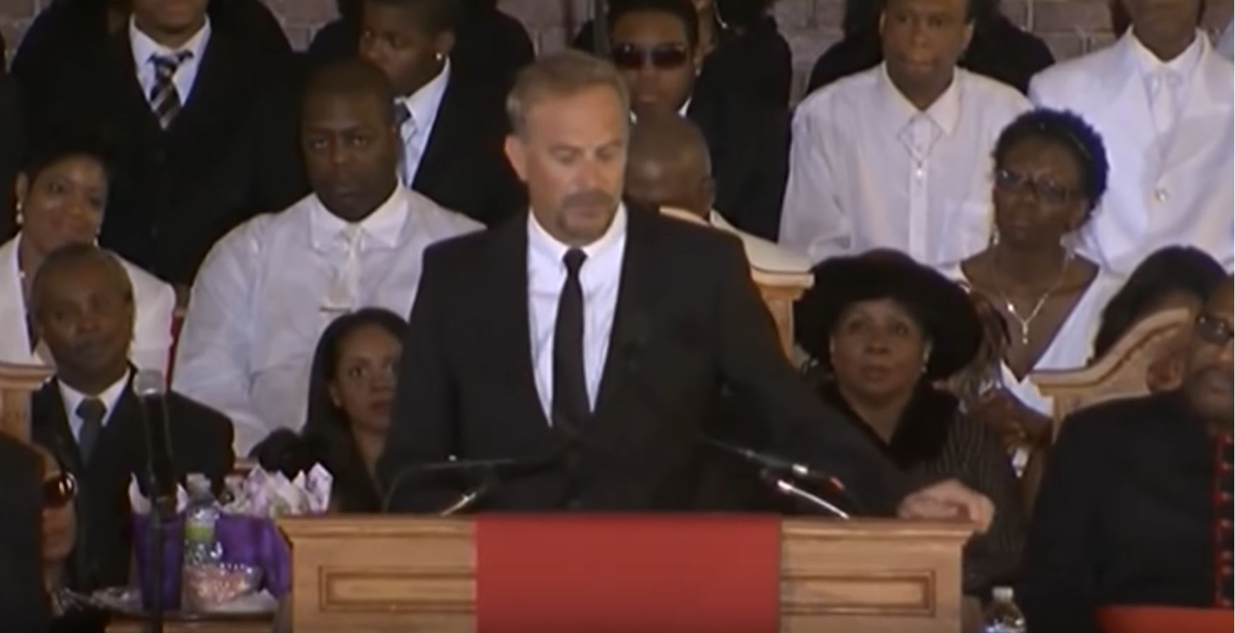 Kevin Costner Eulogy for Whitney Houston