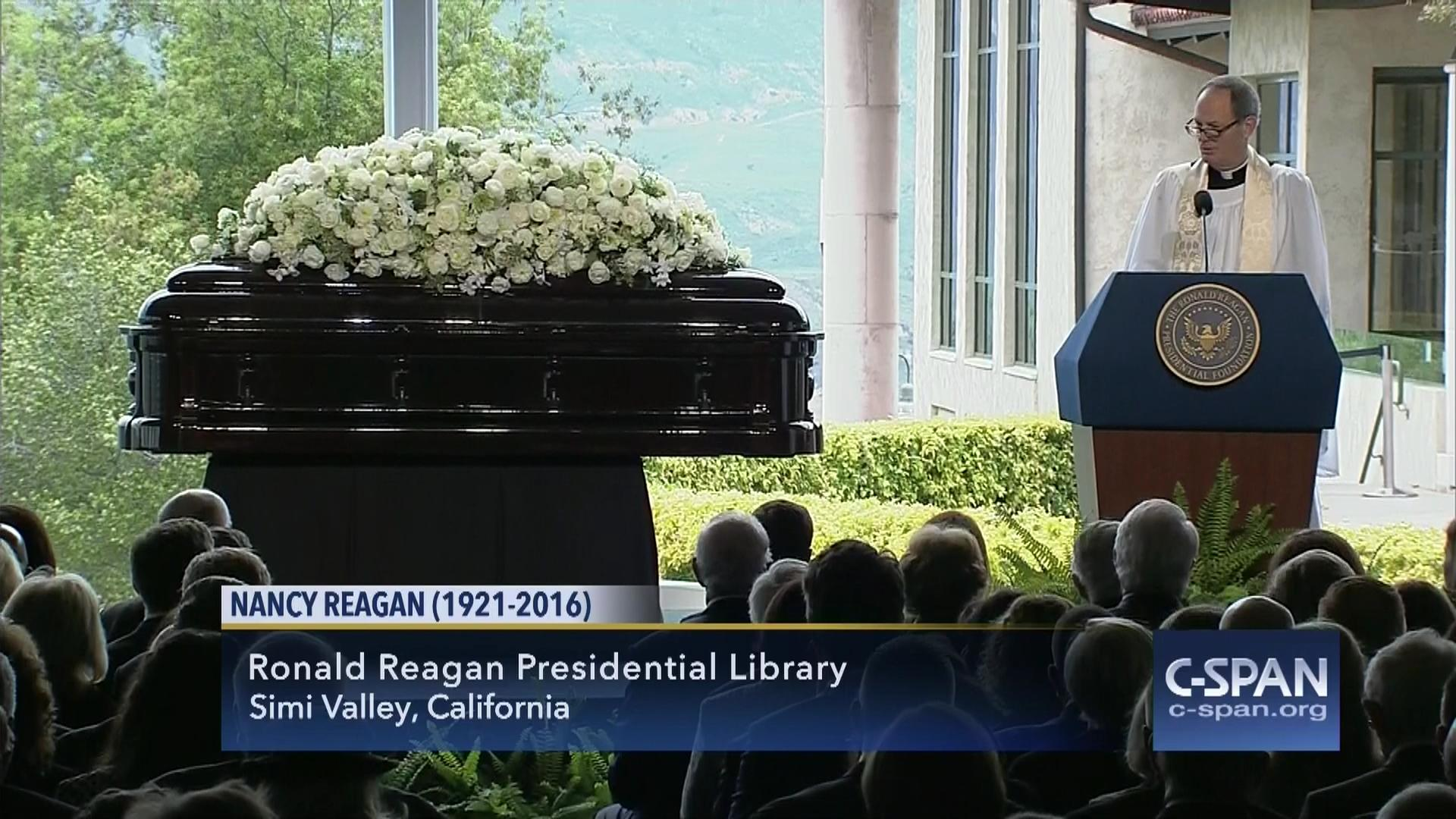 Nancy Reagan Casket