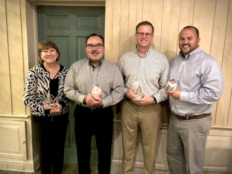 Thacker Awards Top Sales Performers