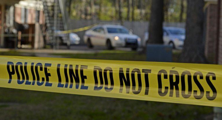 Baton Rouge Murder police tape