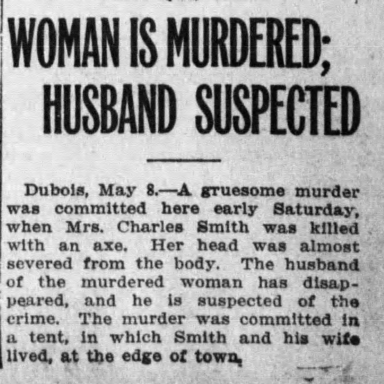 Henry Loveless Suspected of Murder