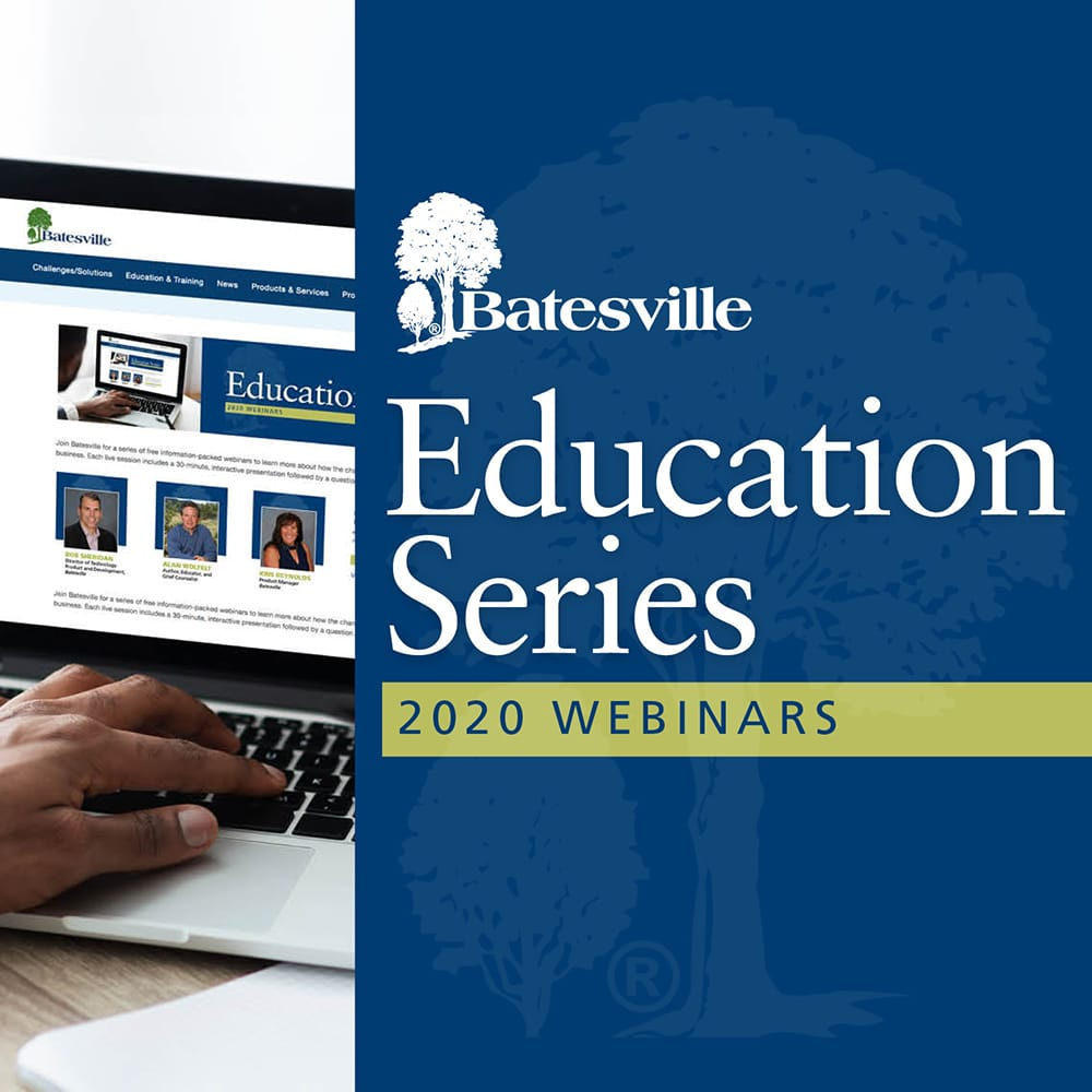 Batesville Announces 2020 Education Series Webinars for Funeral Professionals