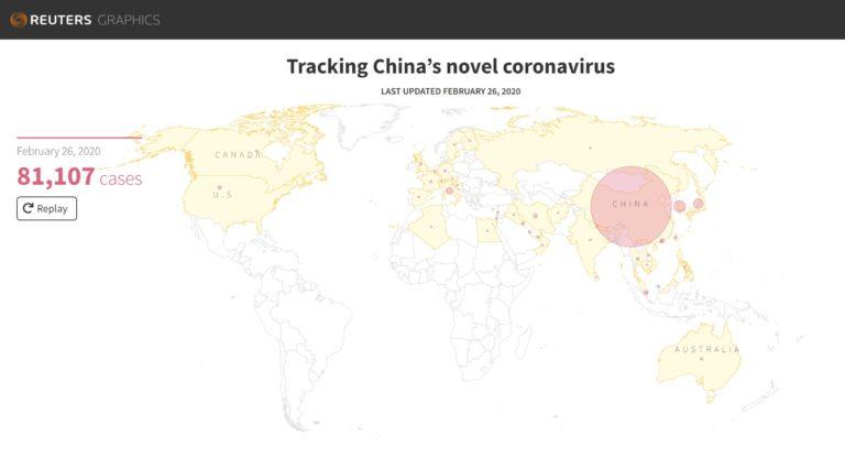 Reuters Coronavirus Graphic