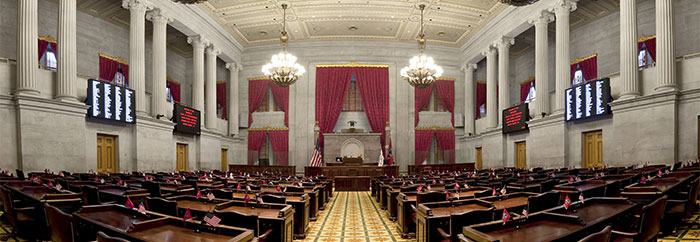 Image of Tennessee General Assembly interior