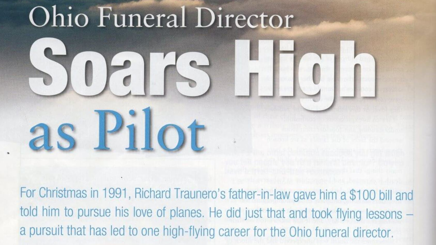 Screen grab from Funeral Director magazine