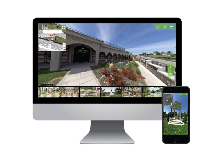 Remote sales with Cemetery360