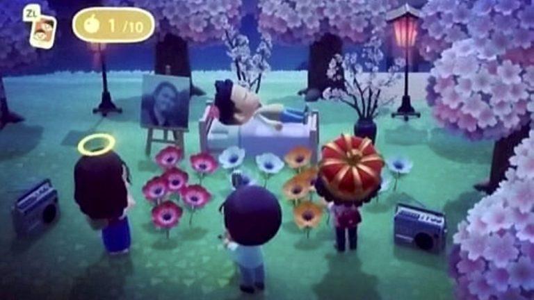 Animal Crossing Funeral