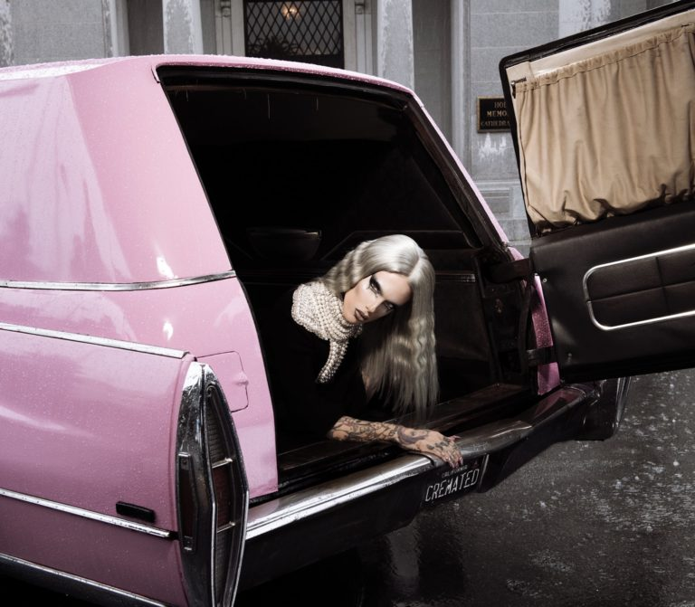 Cremated Palette creator Jeffree Star in pink hearse
