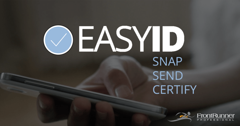 "FrontRunner Announces ""EasyID"" – A Virtual Identification Tool"