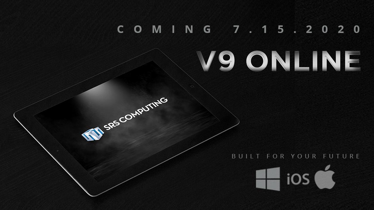 SRS Announces Release of 'V9 Online'