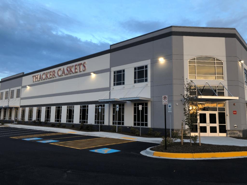 Thacker Caskets Headquarters