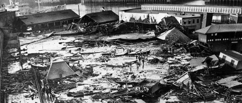 Molasses flood in Boston