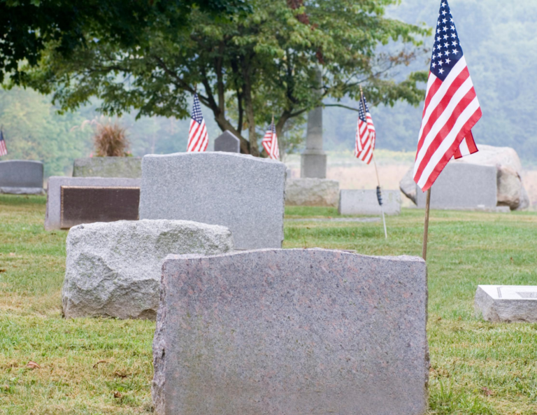 Cemetery at Funeral Home