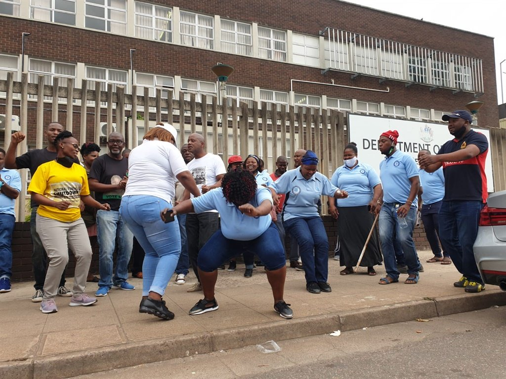 South Africa Strike Workers